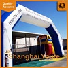 Decorative inflatable type entrance arch inflatable tubular arch with custom logo