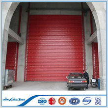 Auto good quality fast industrial sectional overhead door/sliding gate door