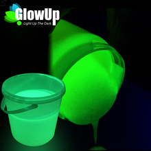 Water Based Non-Radioactive Glow In Dark Body Paint