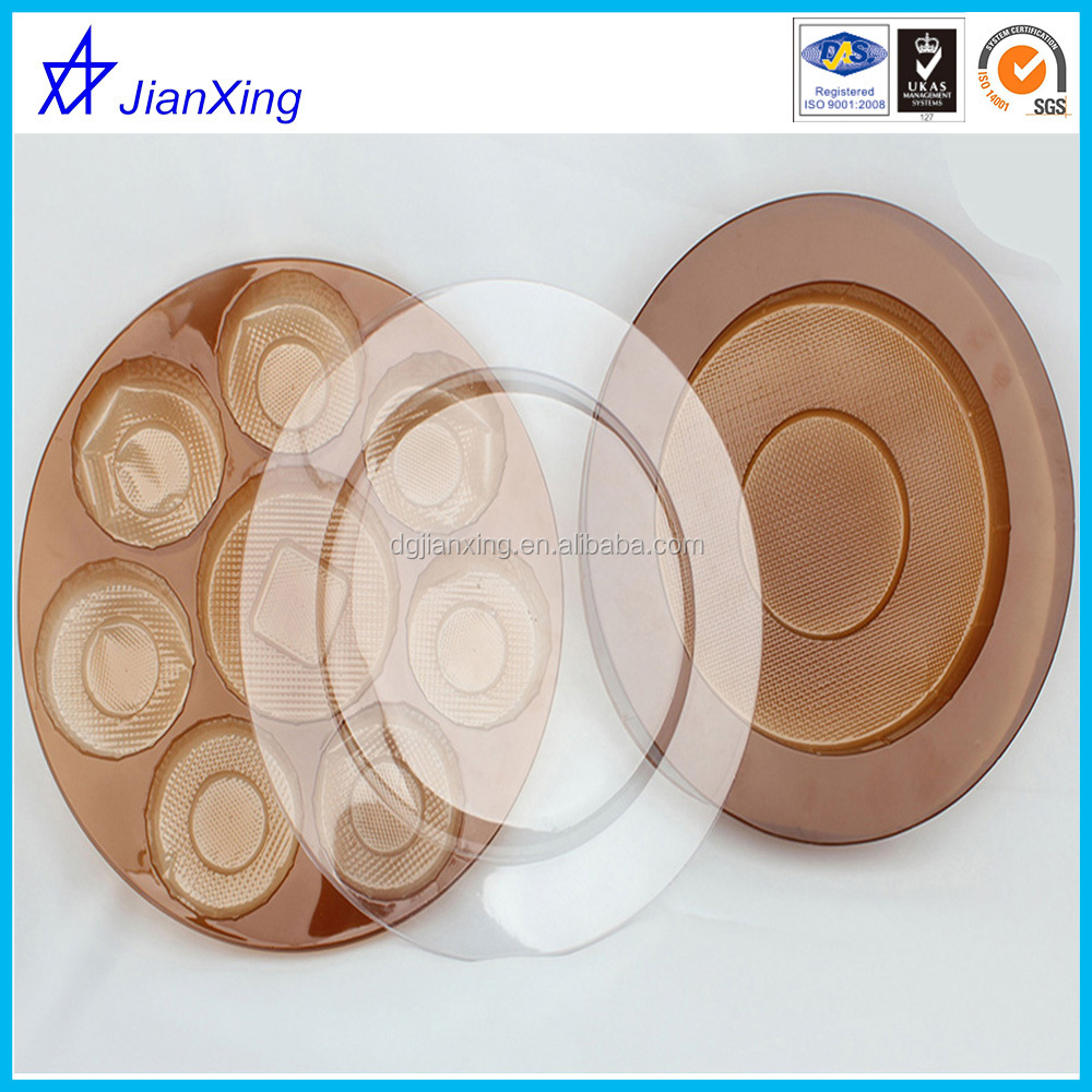 round food tray with a lid or chocolate tray