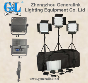 High Quality 40W Ultra-thin LED Panel Video studio Light kit
