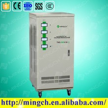 CE ROHS approved automatic three phase 60kva lia model 3 phase automatic voltage stabilizer