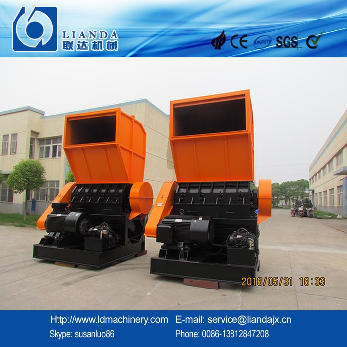 waste PP ton bags/ woven bags/film crusher