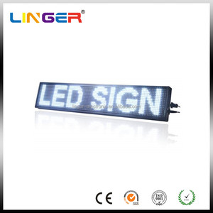 Outdoor and Indoor Led Scrolling Moving Message Sign/Panel/Board/Display