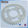 Popular Design 1045 Steel CG125 Sprockets Motorcycle Parts Made in China