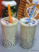 customized bubble tea cup sealing film for plastic ucp