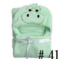 Cheap Wholesale Heated Babies Blanket With Animal hood