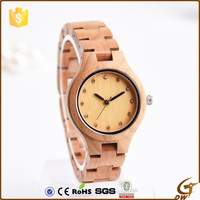 2016 factory wood custom design made watch dials