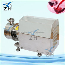 homogenzing emulsifying machine mixing machine for chocolate lab homogenizing emulsification pump