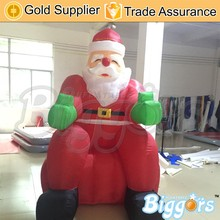 Inflatable Advertising Santa Claus Air Dancer for Christmas