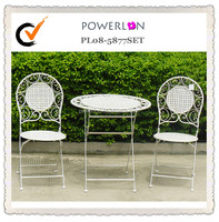 bistro set iron Italy garden furniture set