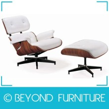 Hign End Lounge Chair with Ottoman Replica