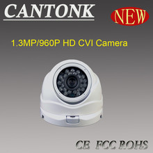 2015 CCTV security equipment most popular dome analog cvi camera