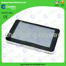 Car GPS navigator with wireless rearview camera, multilanguage car gps navigator sd card free map