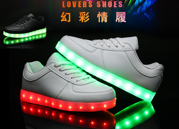 2016 New Style Fashion Shoes Led Light Up Dance Adult Shoes With Lights