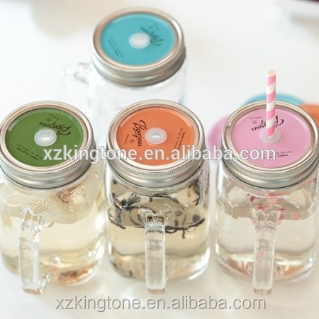 Twist off cap glass jar 500ml glass jar xuzhou