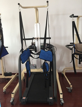physical therapy gait training equipment with treatmill