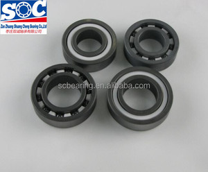 Full SI3N4 ceramic bearing 6800 6801 6802 6803 6804 6805 6806 PTFE Cage