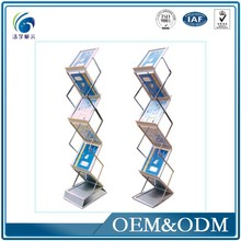 Product Warranty Exhibition And Event Desktop Document Display Stand