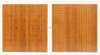Bamboo Chinese Chess and Go Game Board