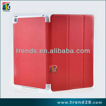 New arrival stand leather case for ipad mini