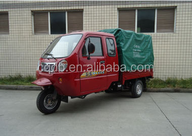 Cheap New Products Chongqing China Gasoline Three wheel Motorcycle With Simple Cabin