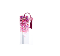 Custom Lollipop Tree Beaded acrylic Bookmark with Tassel