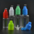 Hot sale TPD e liquid 10ml PET dropper bottle with triangle mark and tamper childproof cap