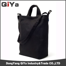 2013 new black promotional cooler tote beach recycle canvas tote bag