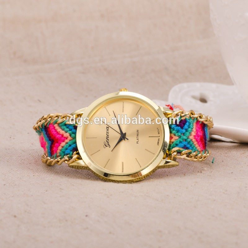 Wholesale China Watch Leather Nylon Nato Straps Vogue Ladies Watch