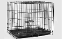 Chinese Pet Products For Folding Pet Cage, Metal Wire Animal Cage For Dog, Cat, Bird, Rabbit