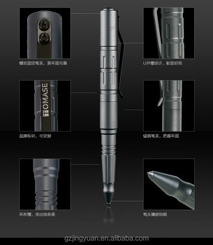 TP3A EDC High Quality Multi Function Tactical Pen glass breaker