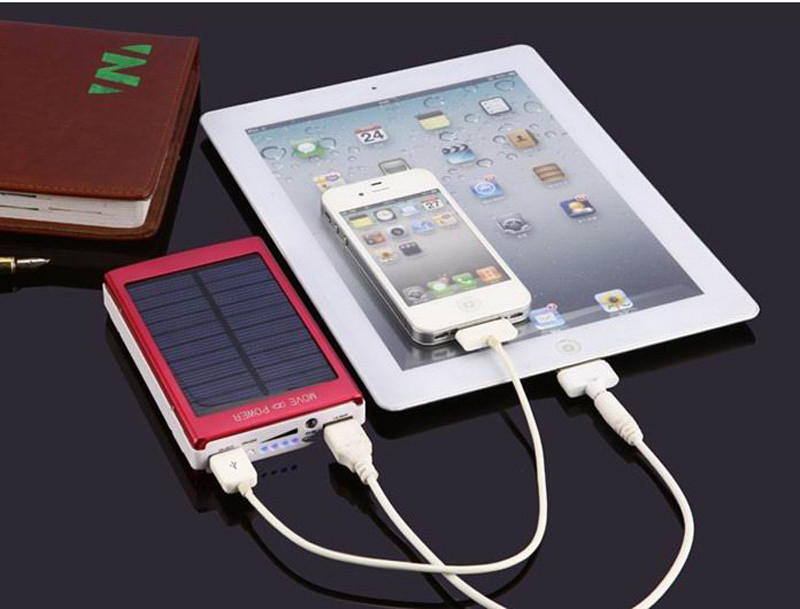 Portable Solar Cell Power Bank Foldable Powerbank USB Solar Panel Charger With Power3S SunPower