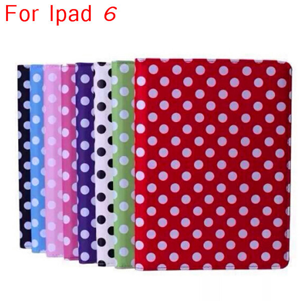 Hot sale tablet for ipad Air 2 case ,for ipad 6 pu leather printing case
