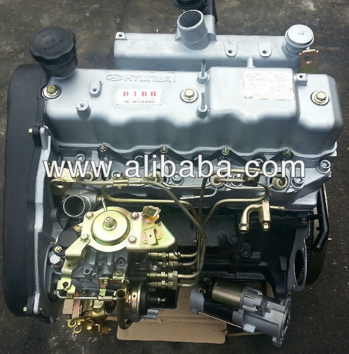 Hyundai Starex, Galloper D4BH Complete Remanufactured Engine