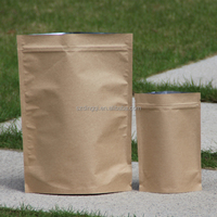 Customize Stand up Zip Lock Food Grade Laminated Raw Materials of Paper Bag