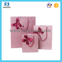 Hot-sale carrying fashionable trendy art paper shopping bag