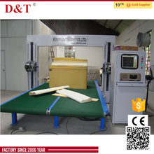 latex puf cutting machine with high speed, toothed blade cutting line