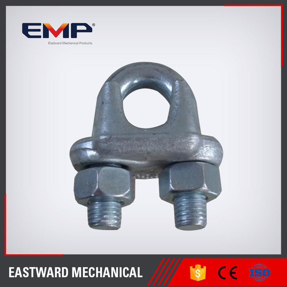 Galv. U.S. Type Drop Forged Wire rope clips