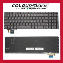 Black RU/Russian Layout Backlit keyboard For ASUS UX51 UX51VZ Laptop keyboard with backlight 0KNB0-6624RU00