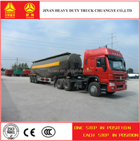 cement semi trailer truck