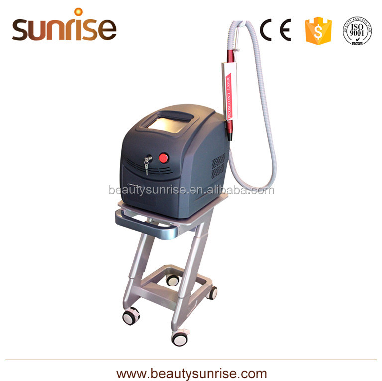 1064 755 Nm 532Nm Q-Switched Laser Picosecond For All Pigment Removal Beauty Machine