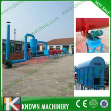 CE approved 300-500 kg/h small rotary dryer / small sawdust drum dryer