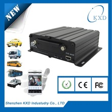 GPS 3g wifi 4ch MDVR/ vehicle mobile dvr with free CMS software with certificate