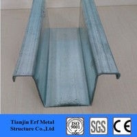 Steel purlin prices top hat channel metal furring channel for sale