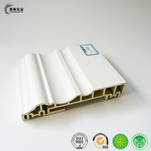 Interior plastic trim moulding, interior baseboard from wall decoration