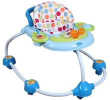 sweet garden European style new model baby walker baby moon walker with music and toy