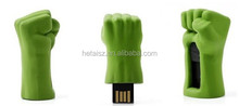 The avengers Hulk fist USB Flash drive 8GB 16GB 32GB 64GB Pen drive usb flash memory stick USB 2.0 U Disk
