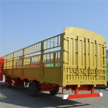 side wall high bed cargo semi-trailer