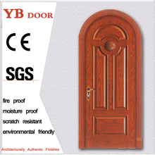 quality supplier 45 mm hollow core solid oak wood timber with accessory oak frame lacquered finish interior simple hotel door